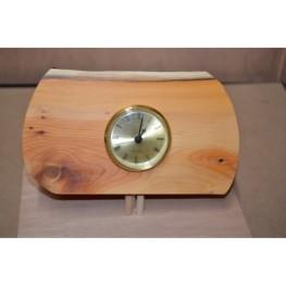 Welsh Yew Wooden Clock
