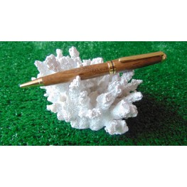European Style Pen In Coffeewood