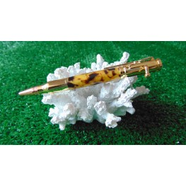 Bolt Action Tortoise Shell Acrylic Pen