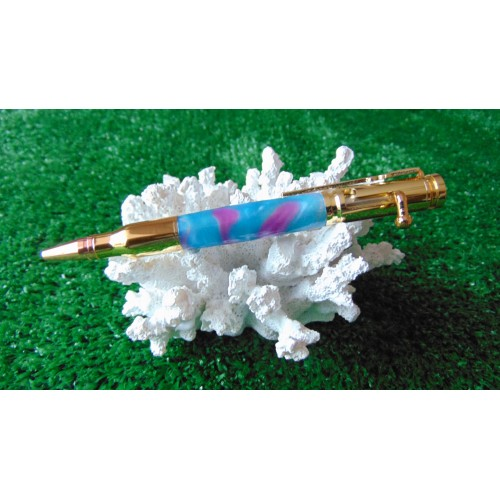 Bolt Action Turbulent Waters Acrylic Pen