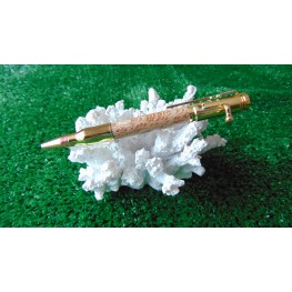 Bolt Action Style Pen In London Plane Wood