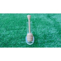 Handmade Honey Dipper made from Beech wood