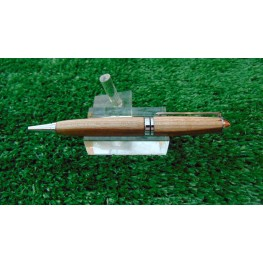 European style pen in Welsh Laburnum wood