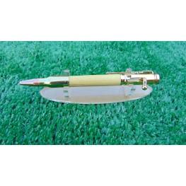 Bolt Action Style Pen In Pau Amarello Wood