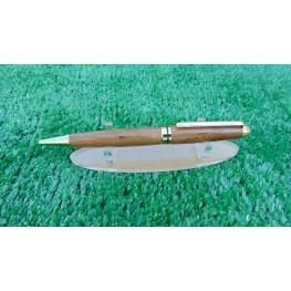 European style pen in Welsh Laburnum wood