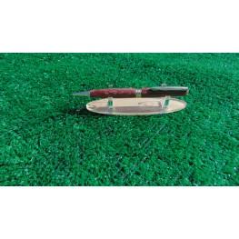 Slimline Style Pen In Strawberry Bloodwood