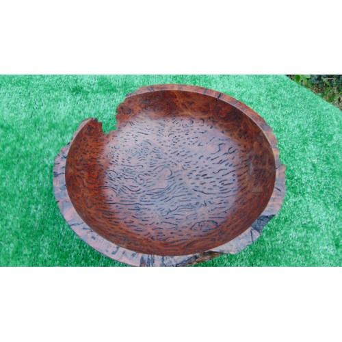 Australian Salmon gum burl bowl