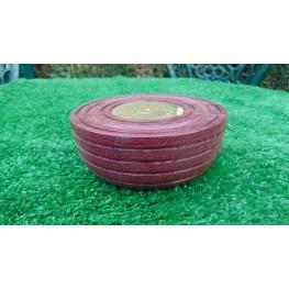 Handmade Perpetual calendar in Brazilian Purple heart wood