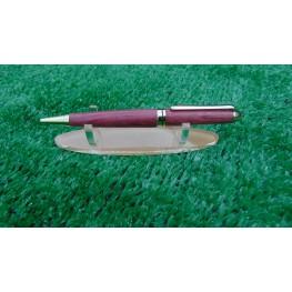 European style pen in Purple heart wood
