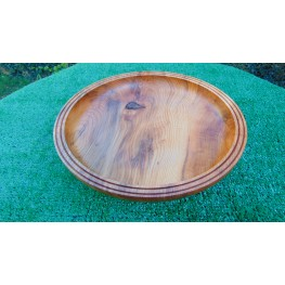 Handmade Yew bowl made from local yew wood