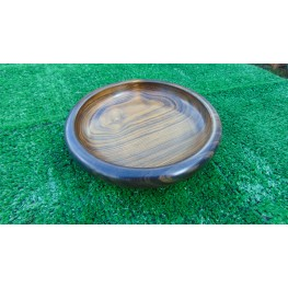 Handmade bowl made from African Panga Panga wood