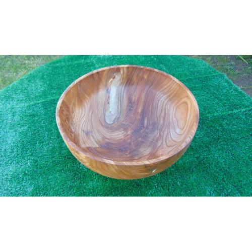 Gorgeous handmade Burr Elm bowl